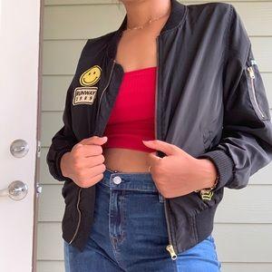 Jackets & Blazers - Patch Zip Jacket